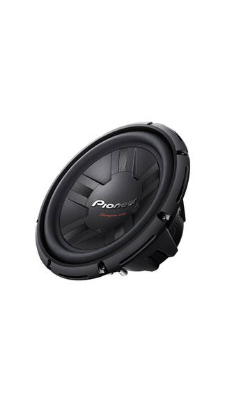 Pioneer TS-W311D4 Champion Series Subwoofer with Dual 4 Ohm Voice Coil