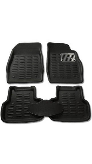 3D Car Mat (Black)
