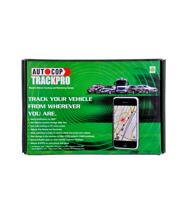 Autocop Model Car Tracking & Monitoring System - TP2000
