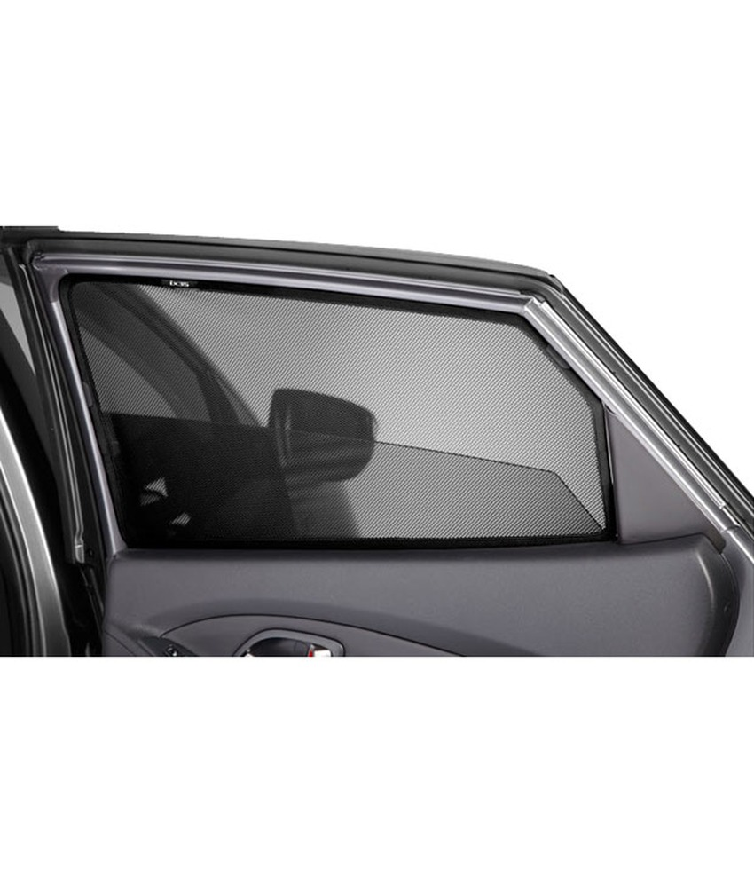 Car Magnetic Window Sun Shades For sedan (4 Pcs.) jet black