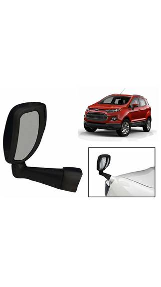 Front Fender Wide Angle Mirror - Black